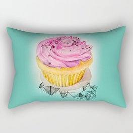 Cupcake Pink Rectangular Pillow