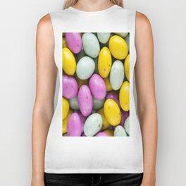 Easter Eggs Biker Tank