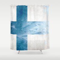 finland Shower Curtains featuring Finland by Fernando Vieira
