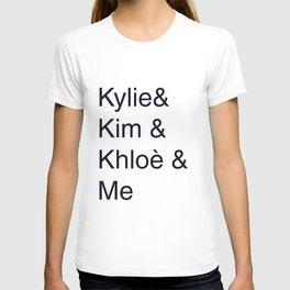 Kylie Kim Khloè Crew T-shirt