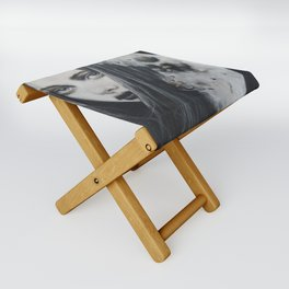 Weeping Heart and the Moon Folding Stool