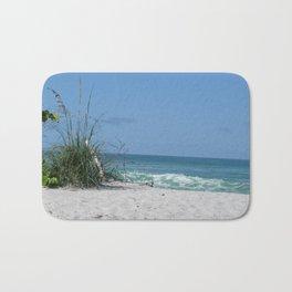 Beach scene at Manasota Key Florida Bath Mat