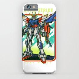 Build Strike Gundam Retro iPhone Case