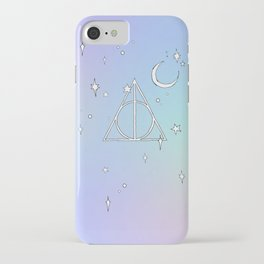 pastel deathly hallows // 2 iPhone Case