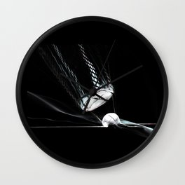 collateral damage Wall Clock
