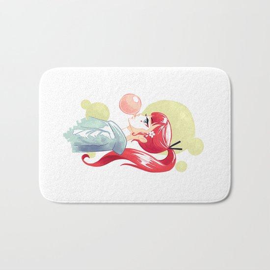 Bubblegum Bath Mat