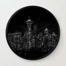 Seattle City Lights Wall Clock