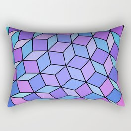 Cube Ball Fourty Two Rectangular Pillow