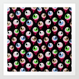 Eyes II Art Print