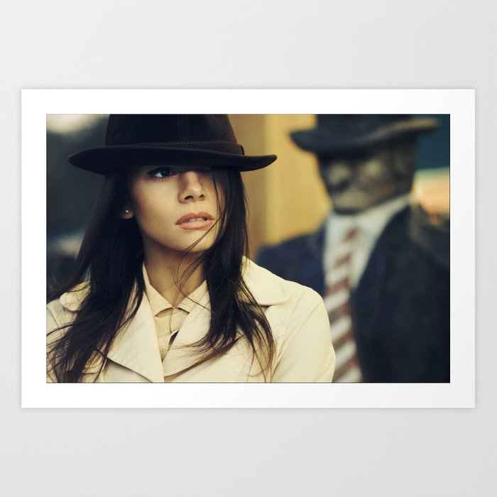 agent Art Print