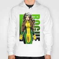 rogue Hoodies featuring Rogue by Genevieve Kay