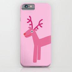 Reindeer-Pink Slim Case iPhone 6s