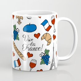 Vive la France! Coffee Mug