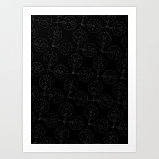 Cranks (Dark) Art Print