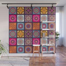 Pattern form Mandala Wall Mural