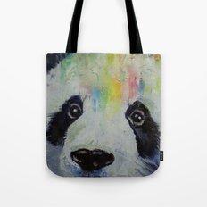 Panda Rainbow Tote Bag
