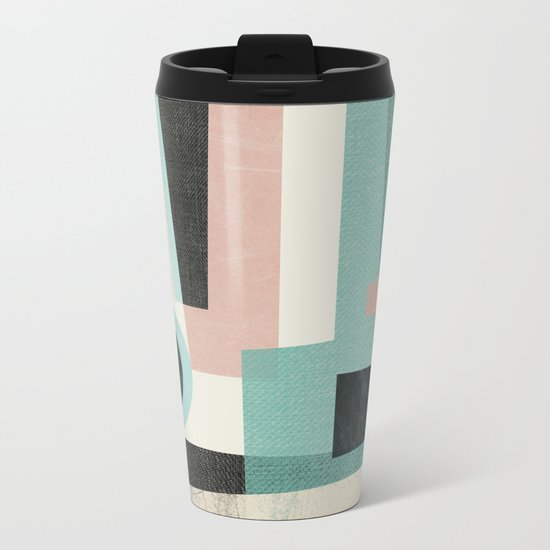 Minimalist Metal Travel Mug