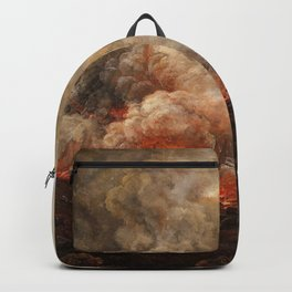 Johan Christian Dahl - Eruption Of The Volcano Vesuvius - Digital Remastered Edition Backpack