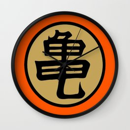 Kame kanji Wall Clock