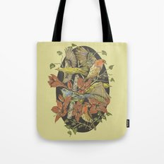 Robins and Warblers Tote Bag
