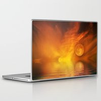 skyfall Laptop & iPad Skins featuring skyfall by LuMixaArt