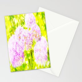 Allium Giganteum - Love Of Flowers Stationery Cards