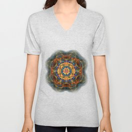 The Sri Yantra - Sacred Geometry Unisex V-Neck