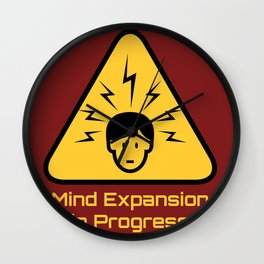 Mind Expansion in Progress Wall Clock