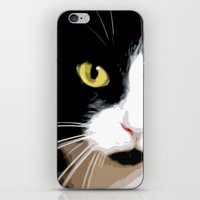 merlin iPhone & iPod Skins featuring MERLIN by SAMHAIN