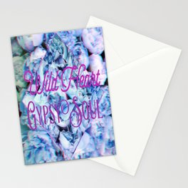 Wild Heart Gypsy Soul Stationery Cards