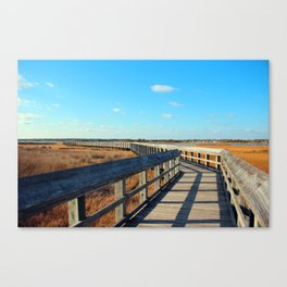 A Long Walk To The End Canvas Print