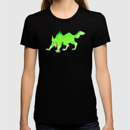 Drip and Drool - Werewolf  (Neon Green) T-shirt