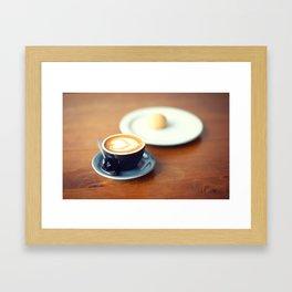 Macchiato with Love Framed Art Print