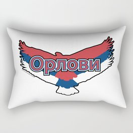 Serbia Орлови (The Eagles) ~Group E~ Rectangular Pillow