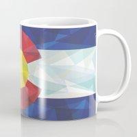 colorado Mugs featuring Colorado by Fimbis