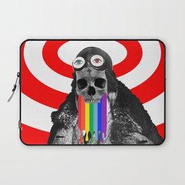 Rainbow Skull Pilot Laptop Sleeve