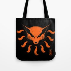 9 Tailed Beast Tote Bag