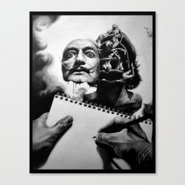 Let's study the Master Canvas Print