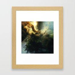 CloudBurst 1 Framed Art Print