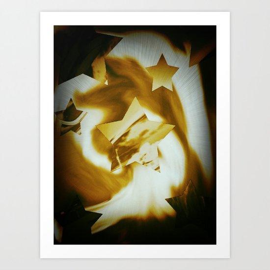 Starburst Art Print