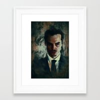 moriarty Framed Art Prints featuring Moriarty by Sirenphotos