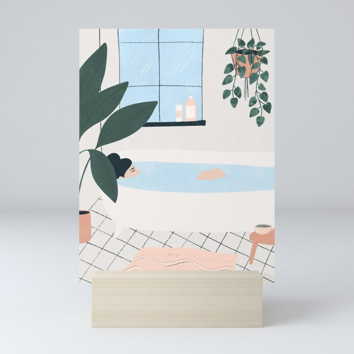 weekend plans Mini Art Print
