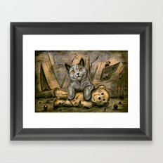 My Playfriend Framed Art Print