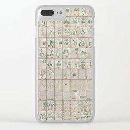 The Complete Voynich Manuscript - Natural Clear iPhone Case