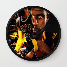 Mask Off Wall Clock
