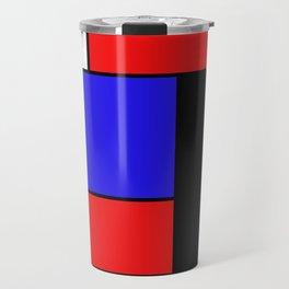 Mondrian #69 Travel Mug