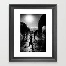 Concrete Beach Series (1) Framed Art Print