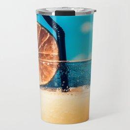Cold drink at the beach Travel Mug