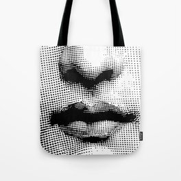 Lina Cavalieri - nose and mouth Tote Bag