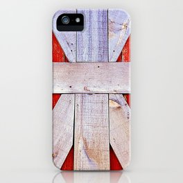 'BARN GRID' iPhone Case
